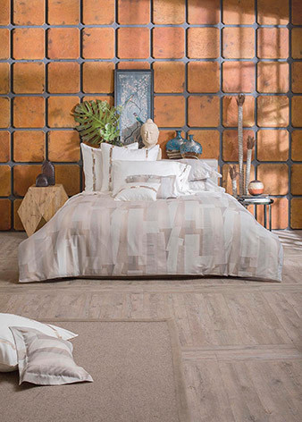 Barcelona jacquard Queen duvet cover<br />King duvet cover